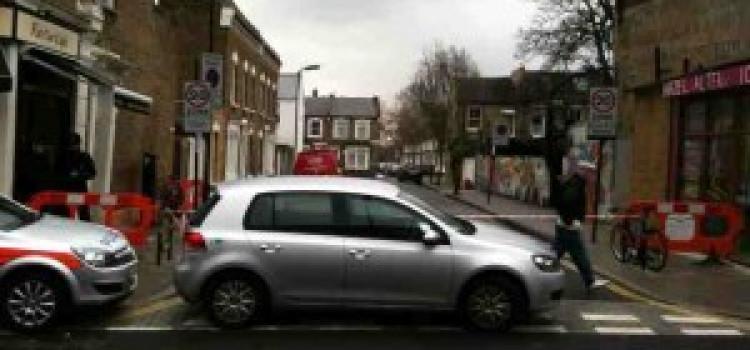 Fire Damages Stoke Newington Shop & Other Units