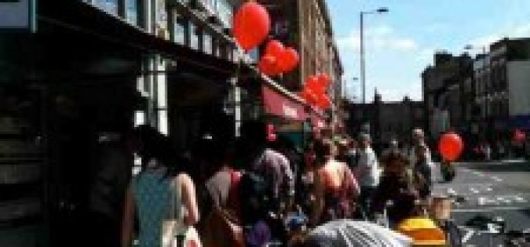 Stoke Newington Church Street Re Opens With Party