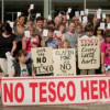 Clapton Resident's Protest New Tesco Plans