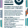 Festival of Yoruba Arts – Saturday 7 August