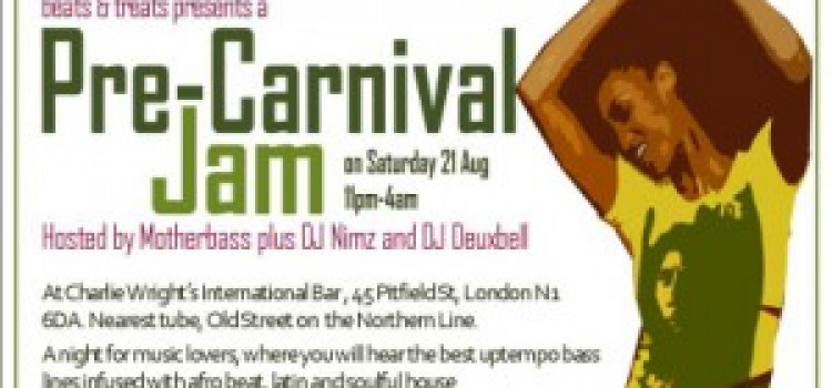 Beats and Treats special Pre Carnival Jam