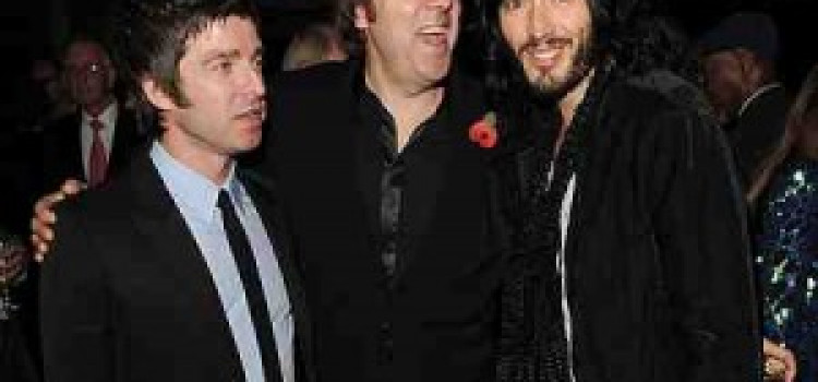 Russell Brand and Jonathan Ross back together in Hackney