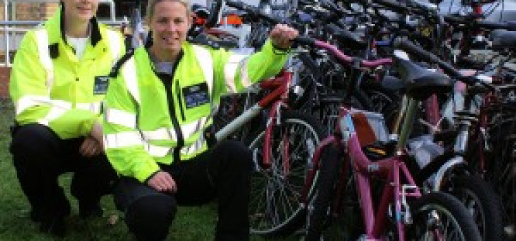 Success for Unit tackling cycle theft in Hackney