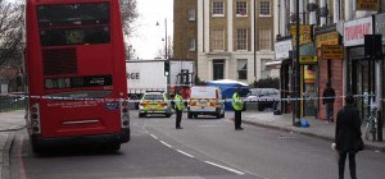 Woman killed crossing Lower Clapton Road