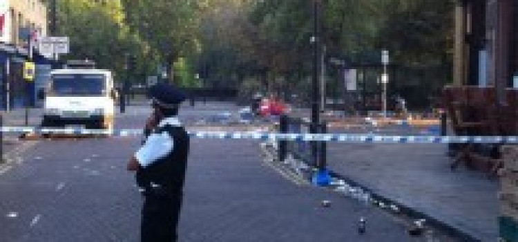 Woman shot outside popular pub in Broadway Market
