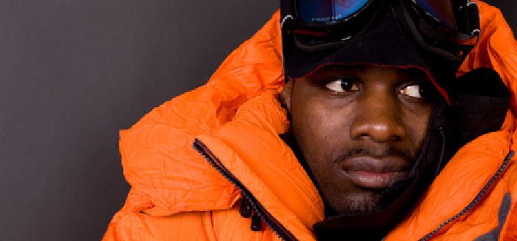 Dwayne Fields Launches his bid to reach the South Pole