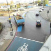 Lorry and cyclist safety event at Bow Roundabout