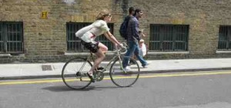 Hackney cyclists get a chance to exchange places with HGV drivers