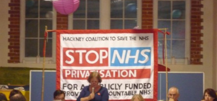 Hackney units to stop the privitisation of NHS