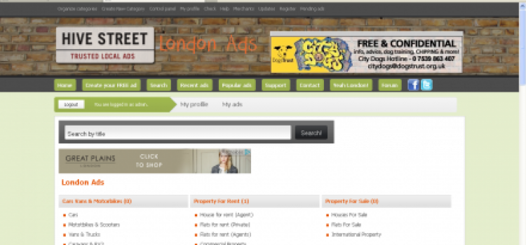 London has a new classified ad site
