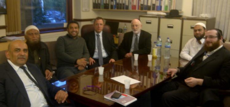 Hackney Borough Police Commander commends Jewish patrol of local Mosque