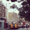 Fire breaks out in Stoke Newington Church Street building