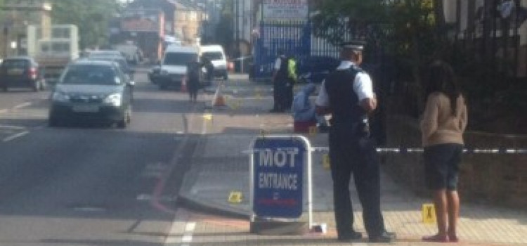 Three shot at Homerton building used for church services