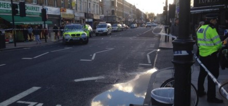 Woman in her 60's killed on Stoke Newington High Street, after collision with lorry