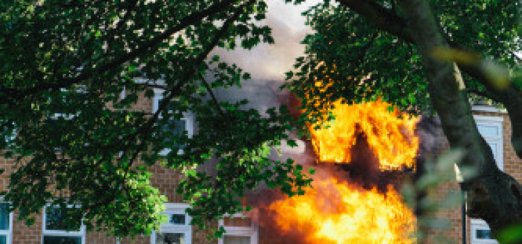 Hackney Central Home badly damaged in blaze