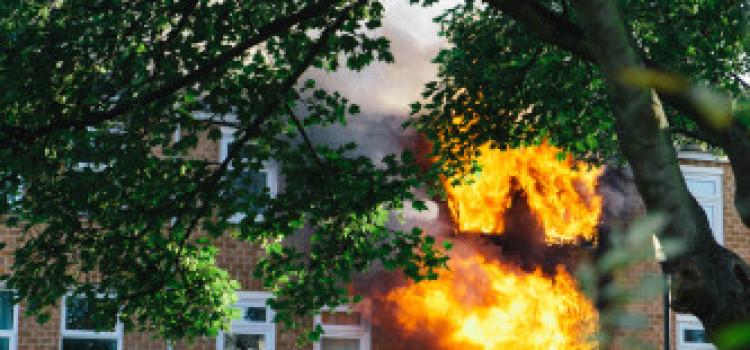 Hackney Central Home badly damaged in blaze