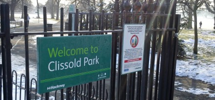 Dog found hanging from Clissold Park railings