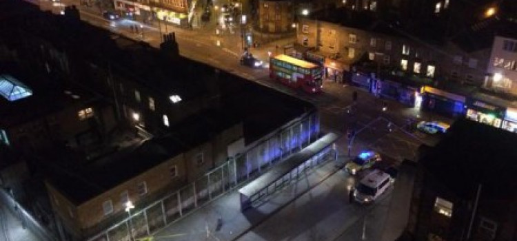 Dalston stabbing leaves teenager fighting for his life