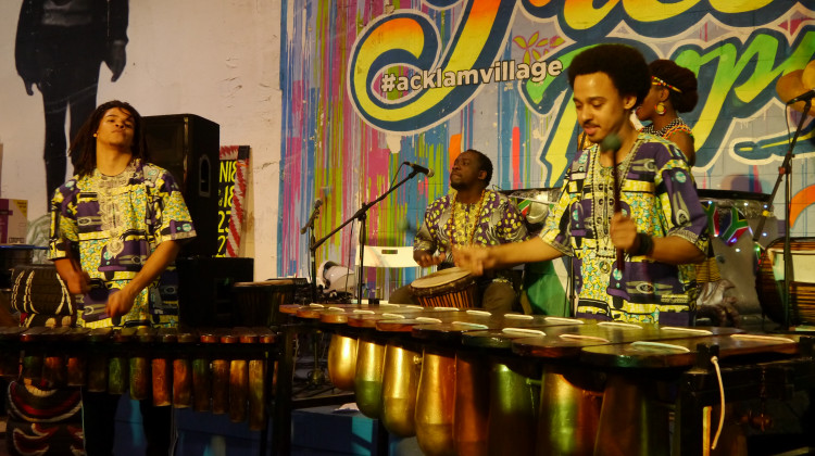 Live African Marimba Music at MostArt Cafe