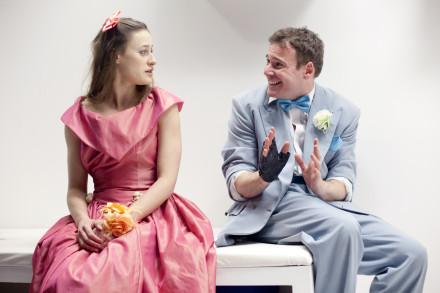 Felix Scott (Doug) and Mariah Gale (Kayleen), photocredit Ludovic des Cognets