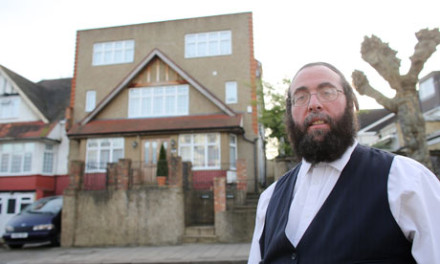 Hackney resident Isaac Liebowitz, who says Haredi Jews need larger houses to accomodate their families. Photograph: Graeme Robertson