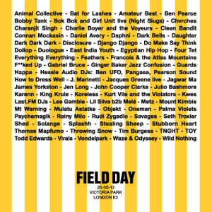 Field Day @ Victoria Park | London | United Kingdom