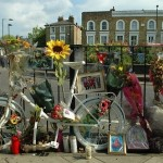 Council threatens to remove ghost bike memorial to killed cyclist