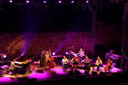 Avishai Cohen with Strings.   Photo:  Jana Ketzel