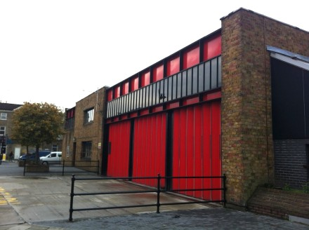 Kingsland Fire Station.      Photo Credit::     www.hackney-labour.org.uk