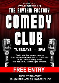The Rhythm Factory Comedy Club  @ The Rythm Factory | London | United Kingdom