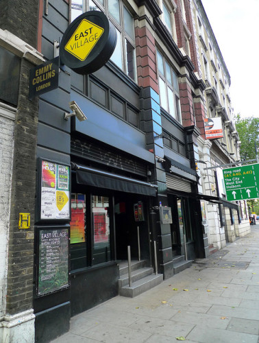The club on Great Eastern Street