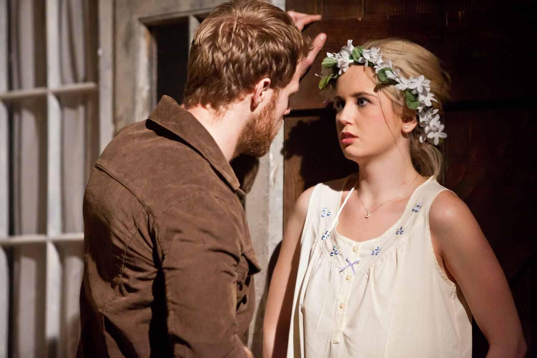 Blood Wedding. Bride and Leonardo (Anna Bamberger and Matt Wilman)