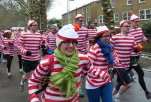 Where's Wally? fun run @ Victoria Park