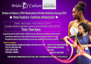 Brides of Culture's Free Multicultural Bridal Exhibition @ Hackney Town Hall | London | United Kingdom