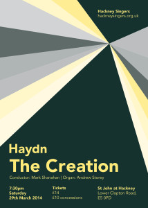 Hackney Singers: Haydn The Creation @ St John at Hackney | United Kingdom