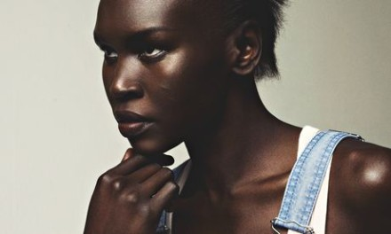 Alek Wek: 'There was no concept of fashion and catwalk shows where I came from.'