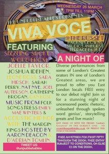 VIVA VOCE @ The Russet | United Kingdom