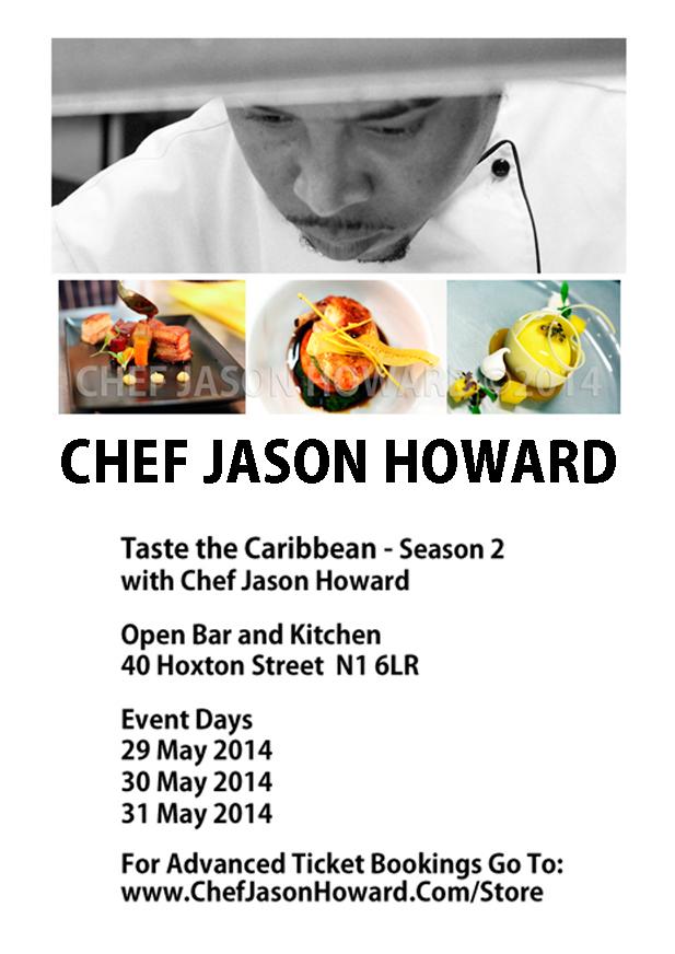 Taste The Caribbean with Chef Jason Howard – Season 2 – May 2014