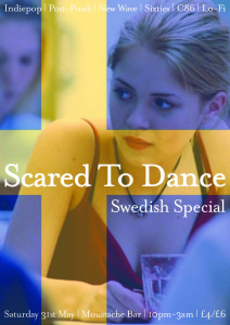 Scared To Dance Swedish Special @ Moustache Bar | London | United Kingdom