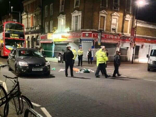 Woman in critical condition following collision with police car in Dalston