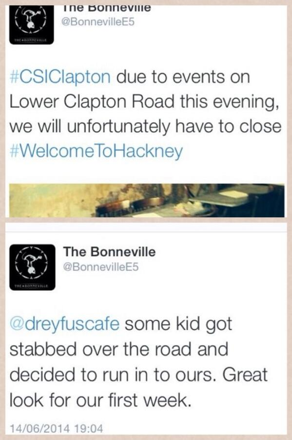 The Bonneville in Clapton: Some of you share the same sentiments