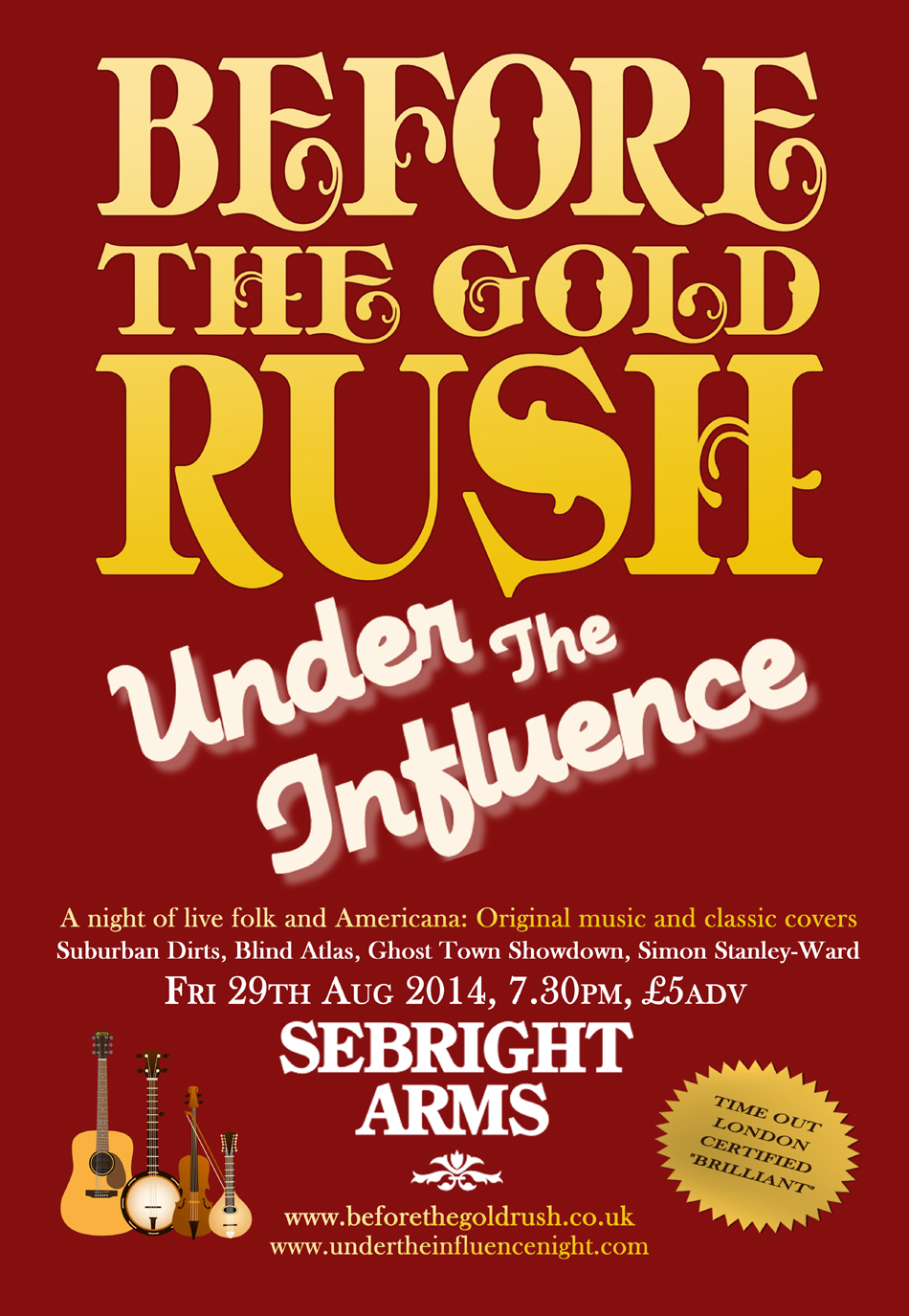 Before The Gold Rush – live music: folk, americana, acoustic