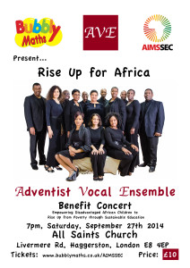 Rise Up for Africa @ All Saints Haggerston Church | London | United Kingdom