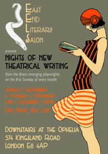 East End Literary Salon @ Ophelia   London   United Kingdom