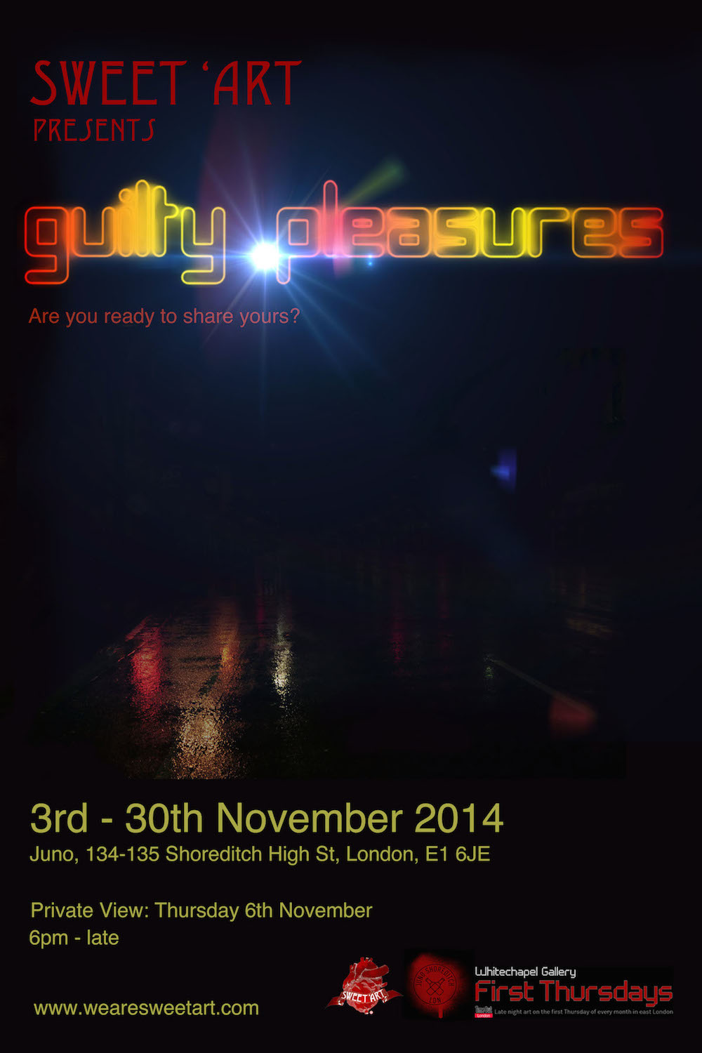 Sweet 'Art presents Guilty Pleasures