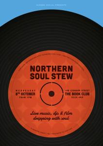 Screen Social Presents: Northern Soul Stew @ The Book Club | London | United Kingdom