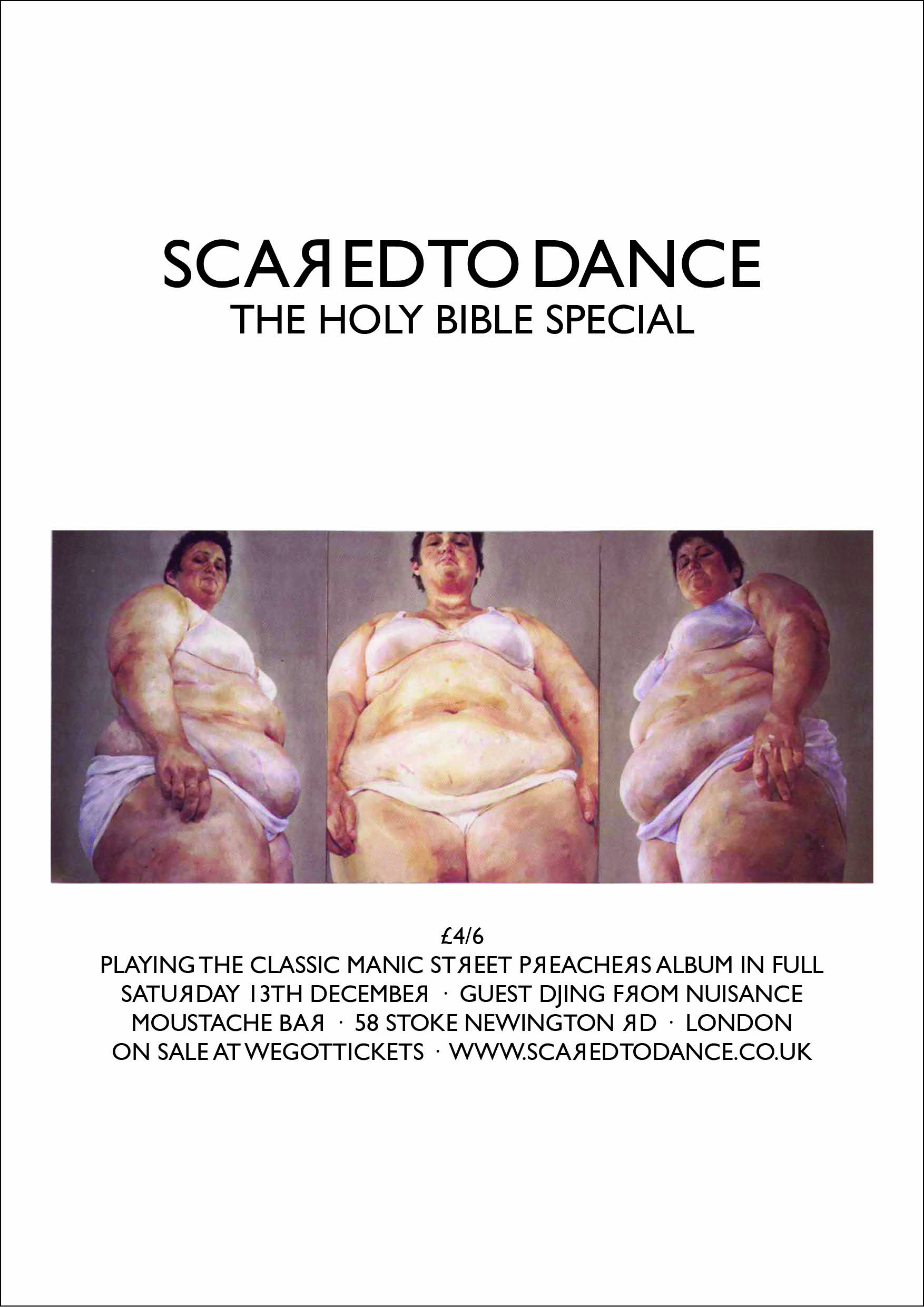 Scared To Dance // The Holy Bible Special