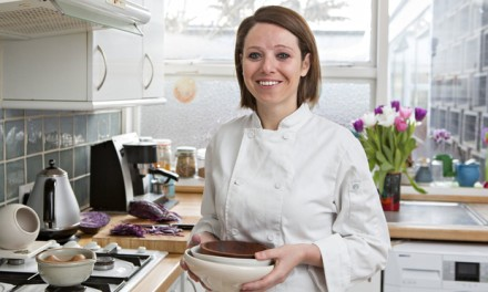 Next week Nicole Pisani will serve pupils sweet potato and spinach dahl muffin cake, with celeriac and parsnip. Photograph: Graham Turner for the Guardian
