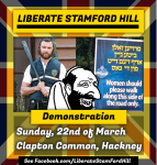 White supremacist group announces anti-semitic rally in Stamford Hill