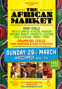 The African Market at The Rich Mix @ Rich Mix | London | United Kingdom